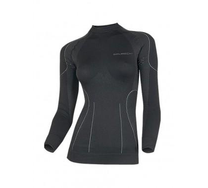 Damska bluza termoaktywna Brubeck Thermo Black