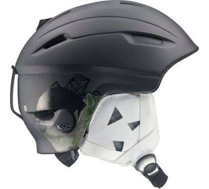 KASK SALOMON ICON BLACK MATT 2015
