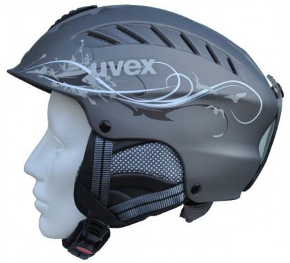 KASK UVEX X-RIDE MOTION LADY SILVER MAT DECO