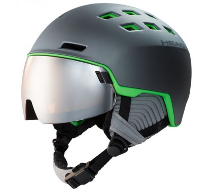 KASK HEAD RADAR black/lime 2020