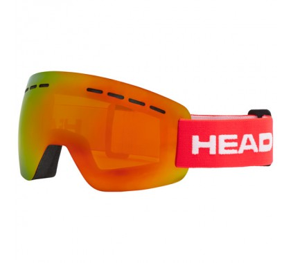 GOGLE HEAD SOLAR FMR red