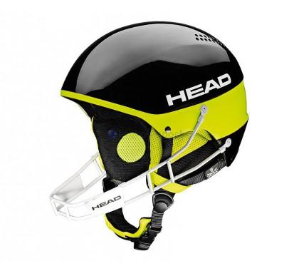 KASK HEAD Stivot SL black + garda slalomowa