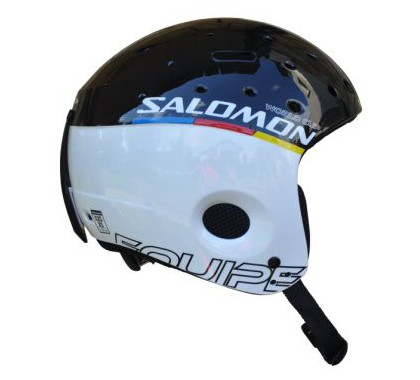KASK SALOMON EQUIPE JUNIOR WHITE/BLACK 2012