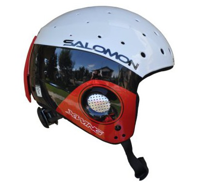 SALOMON EQUIPE JUNIOR WHITE/RED 2012