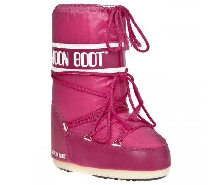 BUTY MOON BOOT NYLON MINI BOUGANVILLE