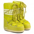 BUTY MOON BOOT NYLON MEDIUM LIME